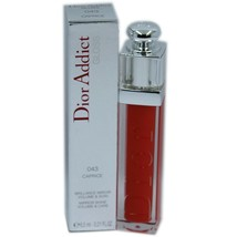 Dior Addict Gloss Mirror Shine Volume & Care 6.5 Ml #043 Caprice Nib - $36.14
