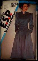 1980s Skirt Top Steampunk Simplicity 6073 Size 8 Bust 31 1/2 Pattern Jacket - $6.99