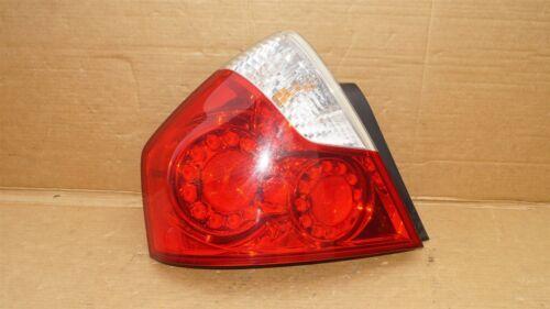 06-07 Infiniti M35 M45 LED Taillight Lamp Driver Left Side - LH