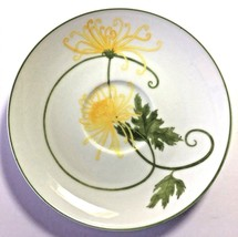 Denby Fine China Dreaming Yellow Flowers/Made in Portugal/Vintage Saucer/Mint - $9.85