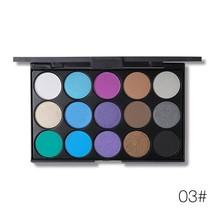 UCANBE Brand 5 Colors Eyeshadow Makeup Palette 15 Earth Color Matte Pigm... - $15.60