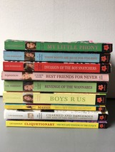 Lot of 9 The Clique Series Books By Lisi Harrison - $19.39