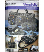 Simplicity 5025, Bags Accessories, Duffle Bag, Personal Carriers, Eyegla... - $10.00