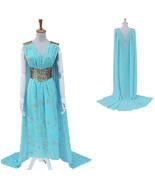 Halloween Game of Thrones Daenerys Targaryen Qarth Cosplay Costume - $76.13