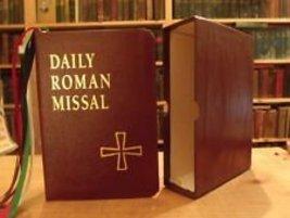 Daily Roman Missal: Burgundy Genuine Leather [Leather Bound] James Socias - $45.53