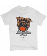 Life is Better With My Pit Bull T-shirt I Love Me Dog Animal Lover Men's... - $15.33+