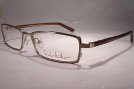 NICOLE MILLER Lunette Champagne gold Women Eyeglass Eyewear  New Optical - $49.49
