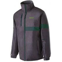 NCAA Oregon Ducks Men's Raider Jacket, Medium, Carbon Print/Dark Green - $39.95