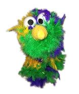 "C23 * Deluxe Custom ""Rainbow / Pink Top Bird""  Sock Puppet * Custom Made - $10.00"