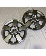 Nissan Rogue Hubcap 2008 2009 2010 2011 2012 2013 Oem Factory Genuine Parts X2 - $48.38