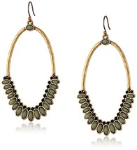 AUTHENTIC Lucky Brand Gold-Tone Mint Drama Earrings - $23.21