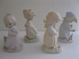 Precious Moments Four Seasons Collector Figurines - Complete Set of 4 Figurines - $168.30