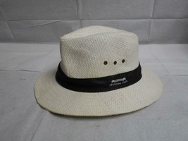 Mens White Original Panama Jack  Safari Hat Size Large - $19.79
