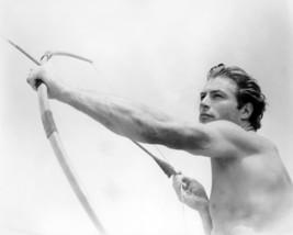 Lex Barker as Tarzan Firing Cross Bow 16x20 Canvas - $69.99