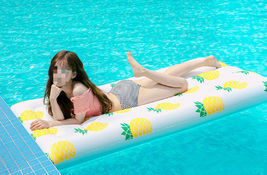 Adults Big Pineapple Inflatable Pool Raft Water Bed Hammock Ride On Float Tube image 5