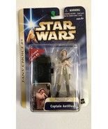 Star Wars Saga Captain Antilles Tantive IV Invasion Fan's Choice #5 2004 - $15.83