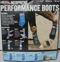 Weaver Leather 35 4215 BK Neoprene Performance Boots Small Black Package 2 image 1