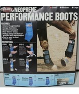 Weaver Leather 35 4215 BK Neoprene Performance Boots Small Black Package 2 - $57.49