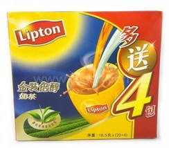 1 boxes x 24 Sticks x 16.5g Hong Kong Lipton Gold Milk Tea  立頓金裝倍醇奶茶 - $29.99