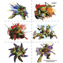 Teenage Mutant Ninja Turtles Tattoos 24 Pack Favors Party TMNT - $1.99