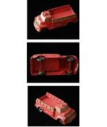 Auburn rubber Red Truck Vintage 1950s - $26.99