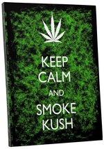 "Pingo World 0718QN4RTI4 ""Keep Culm and Smoke Kush"" Gallery Wrapped Canvas Art, 2 - $43.51"