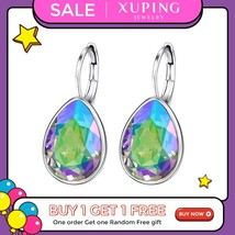 Xupingg Fashion Hoop Earrings Crystals from Swarovski  Romantic Jewelry ... - $47.63