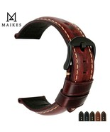 Watch Band 20mm 22mm 24mm 26mm Strap Genuine Leather For Panerai / Tissot - $20.99