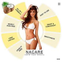 Nacare Hard Wax Beans Non-Strip All Purpose Wax Painless Gentle Hair Removal for image 5