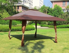 13' x 13' Easy Pop Up Canopy Outdoor Yard Patio Double Roof Gazebo Canop... - $119.99