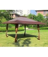 13' x 13' Easy Pop Up Canopy Outdoor Yard Patio Double Roof Gazebo Canop... - $139.99