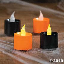 Halloween Battery-Operated Votive Candles - $19.11