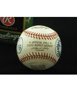 2000 Official World Series Subway Series Baseball NEW UNUSED NY Yankees ... - $48.95