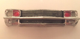AMT Chevy Impala 1970 Firechief Front Paint Grill & Bumper Bad Chrome Us... - $4.92