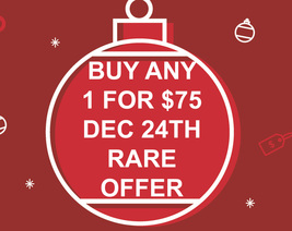 DEC 24TH FLASH HOLIDAY OFFER PICK ANY 1 FOR $75 BEST OFFERS DISCOUNT MAGICK  - $75.00