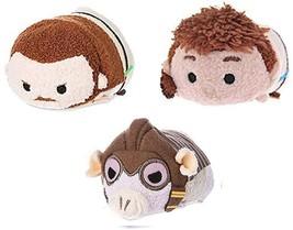 "Disney Star Wars Phantom Menace Mini Tsum Tsum 3.5"" Plush Set of 3 #2 - $15.83"