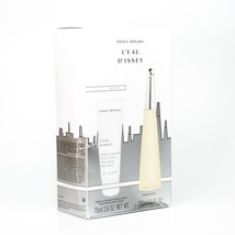 Issey Miyake L'eau D'issey 3.3 Oz EDT Spray + Body Lotion 2.5 oz 2 Pcs Gift Set image 3