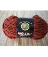 LION BRAND Wool-Ease Thick & Quick Super Bulky Yarn Spice 135 Lot# 30332 - $6.92
