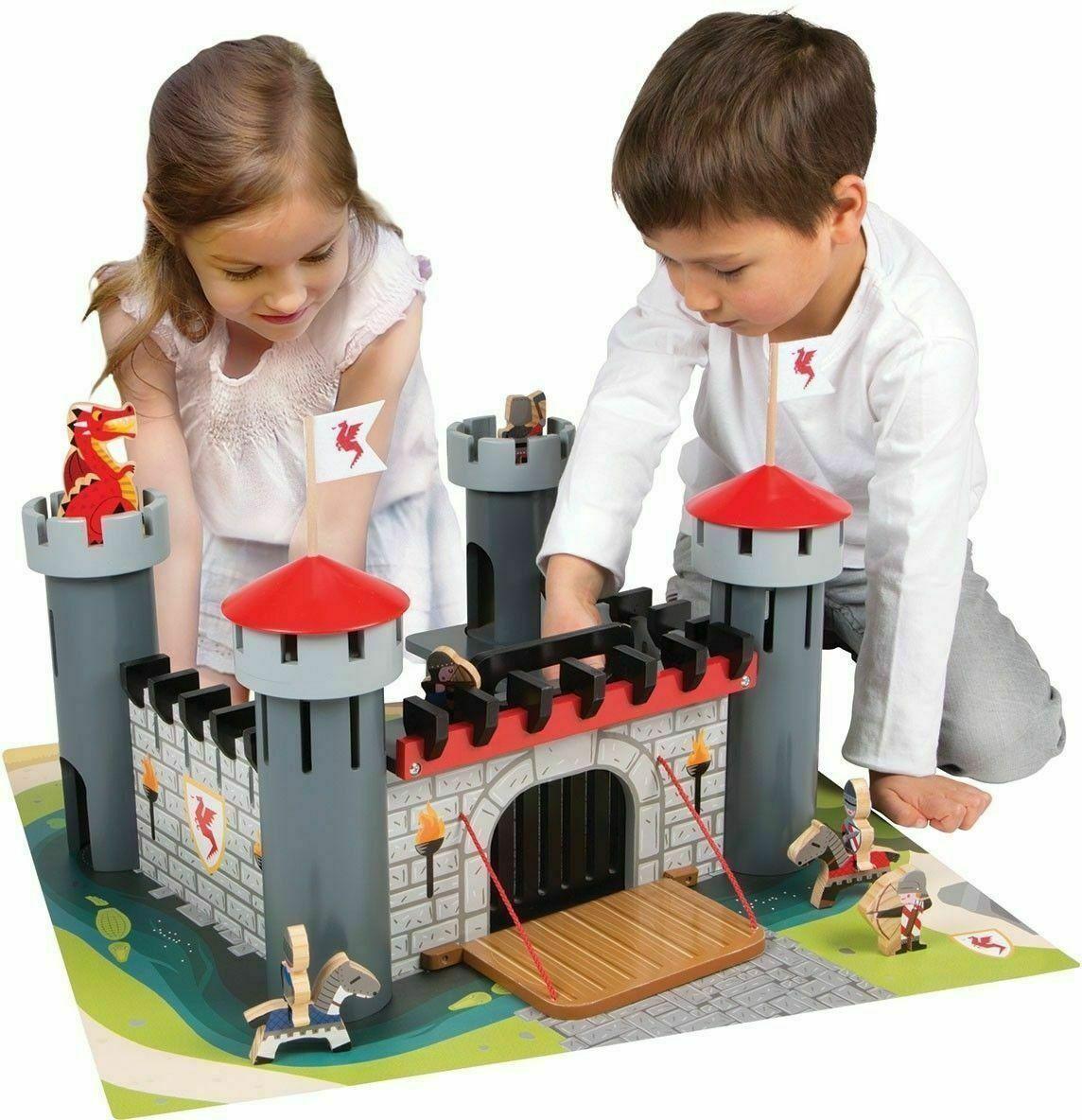 Alex Wooden Dragon Castle set New