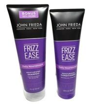 John Frieda Frizz Ease Shampoo & Conditioner Daily Nourishment Moisturis... - $18.76