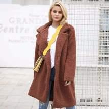 Casual Wool Blend Long Outerwear Jacket - $62.98