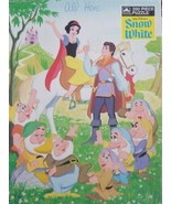 Walt Disneys Snow White 200 PC Jigsaw Puzzle 14 by 18 inches Ages 6 to 14 - $19.16
