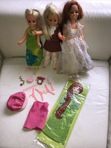 Vintage 1970's Ideal Velvet & Crissy,  dolls MOC Clothes,HTF Accessories... - $123.74
