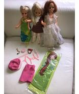 Vintage 1970's Ideal Velvet & Crissy,  dolls MOC Clothes,HTF Accessories... - $123.74