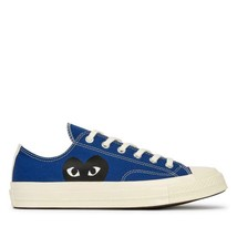 NIB*Converse X Comme de Garcons Play*Mens*Blue low  Top**5-12*Sneaker*Un... - $225.00
