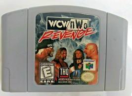 WCW/NWO Revenge (N64 Nintendo 64, 1998)  - $9.86