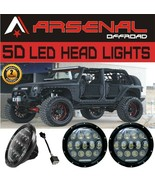 #1 2X 7Inch 75W LED Headlight H4 H13 DRL HIGH LOW Beam for JEEP JK TJ Wr... - $80.14
