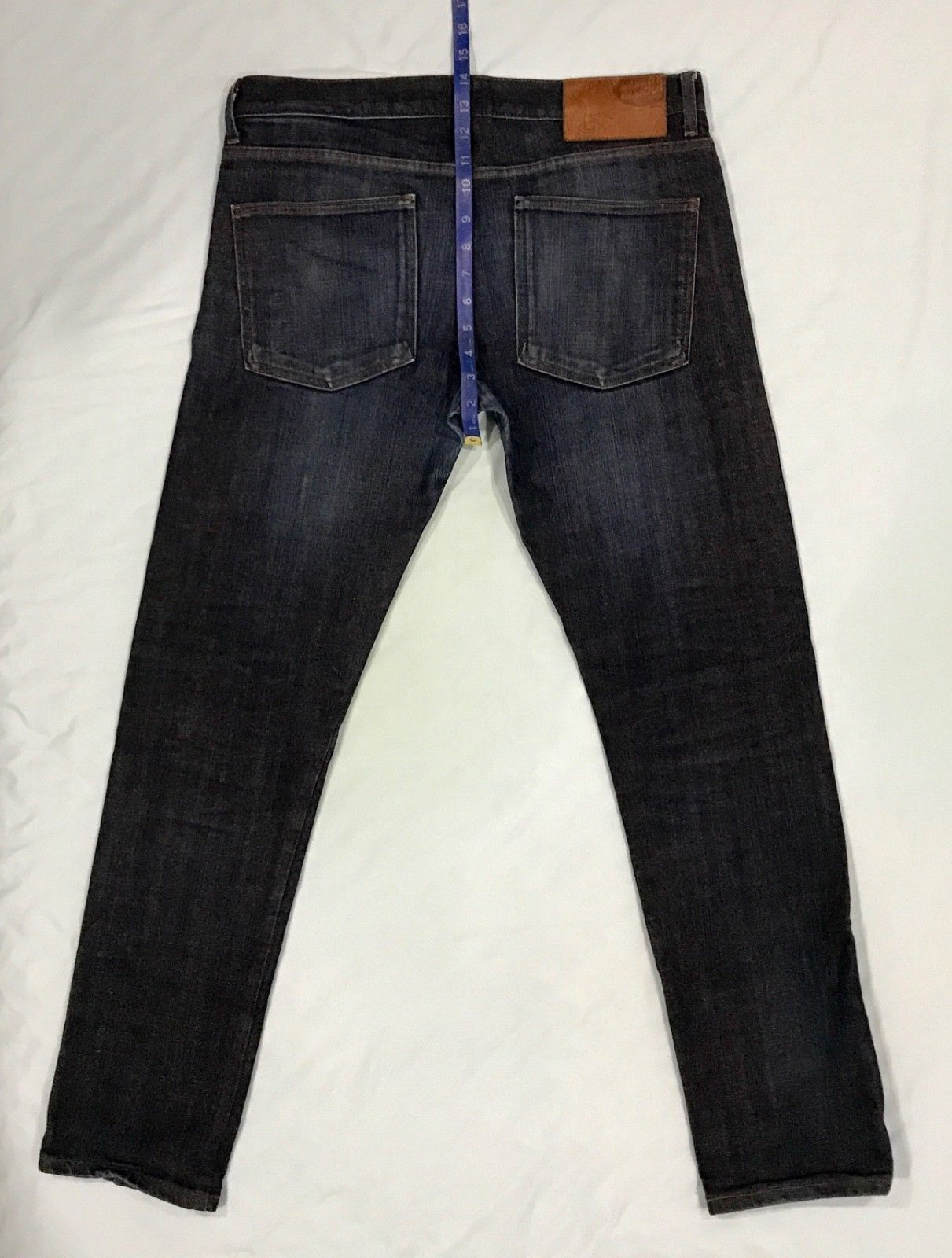Naked and Famous Super Skinny Guy Sz 36 Stretch Selvedge Denim Jeans