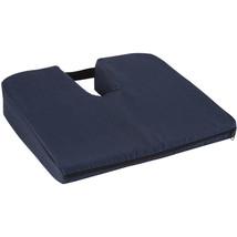DMI Sloping Coccyx Cushion, Navy - $39.91