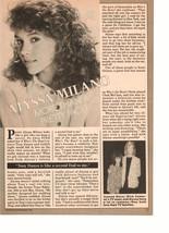 Alyssa Milano teen magazine pinup clipping more than a pretty face